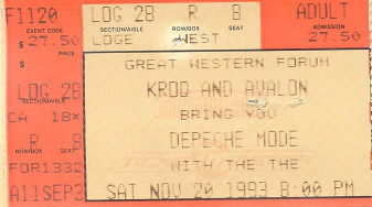 Depeche Mode, the Forum