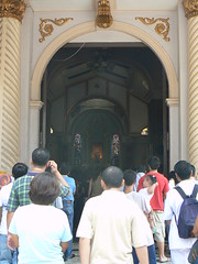 Entrance of Basilika Ng Nazareno IIa