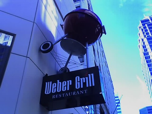 Giant Weber Grill