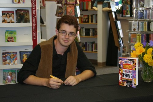 Adam's Columbus Book Signing