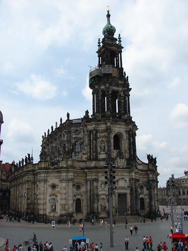 Horfkirche o Catedral Católica de Dresde