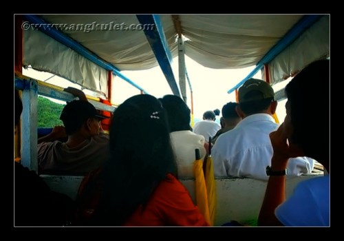 Boat Ride Going to Caramoan from Sabang