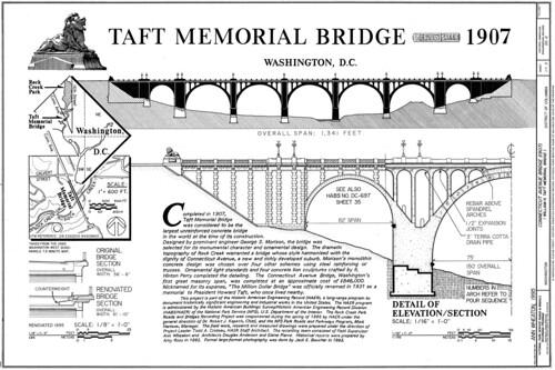 Taft Memorial Bridge Drawings