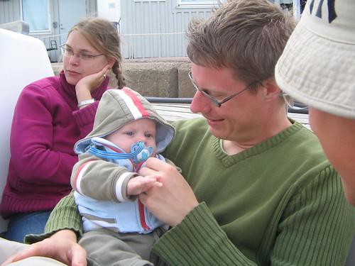 träffade på Carl-Melker, Magnus, Therese, Matts och Sanna i Marstrand
