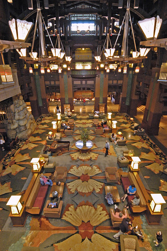 Lobby of the Grand Californian