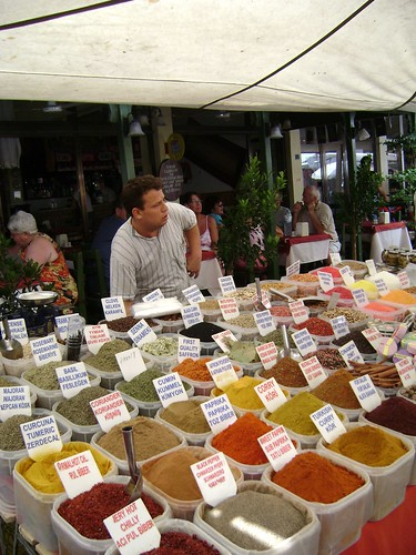 Spices at Dalyan Market