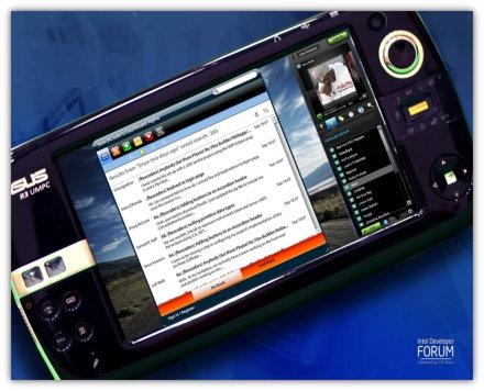 Asus R3H - Il MID targato Asus del 2008
