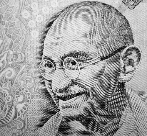 Mahatma Ghandi da DMWyllie.