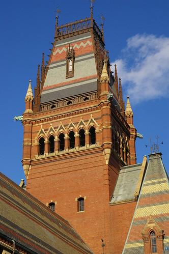 tower at Harvard