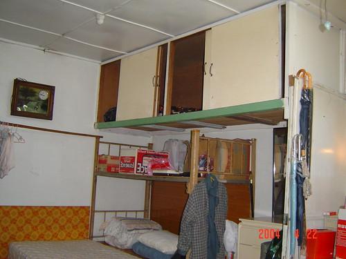 以前我睡覺的地方,也是我媽媽小時候睡得地方