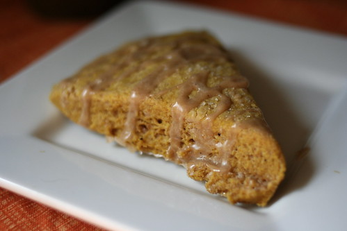 pumpkin scone