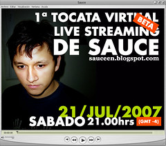 1º Tocata Virtual Live Streaming de Sauce