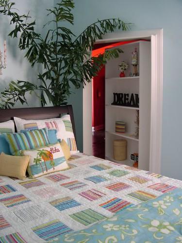 Coastal Guest Bedroom Secret