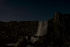 Midnight �xarárfoss