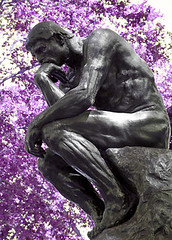 The Thinker, Rodin (post-process)