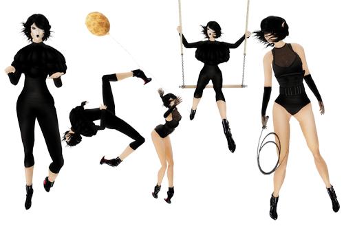 Glam Affair - Carnival / Pose set