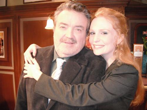 Nina met haar opa