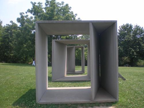 Donald Judd 1984 Untitled, Laumier Sculpture Park, St. Louis, Missouri
