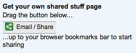 Google Share Button