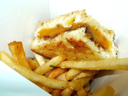 Villains Tavern's Grilled Cheese w/ Bacon Marmalade