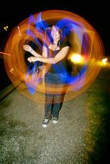 Glow stix and camera fun