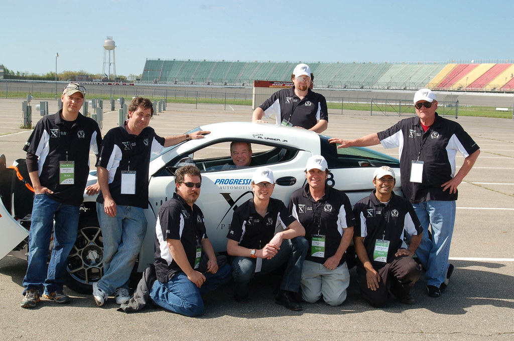 Electric Car Team ZAP Alias for the PIAXP.  Click images for slide show.