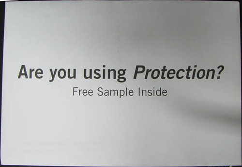 Are you using protection