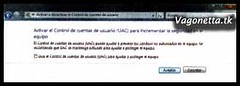 Vista-Quitar User Account Control