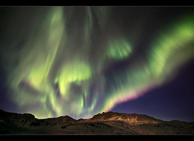 Electric Atmosphere - Aurora at Kleifarvatn, Iceland