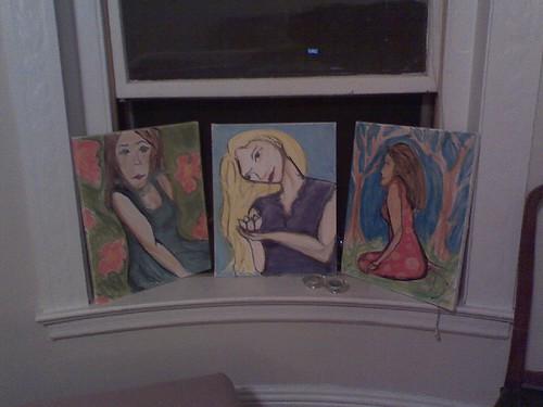 three paintings 9.26.07
