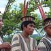 Alumnos de la comunidad asháninka de Pamaquiar...