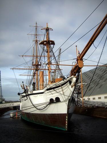 HMS Gannet Bow View