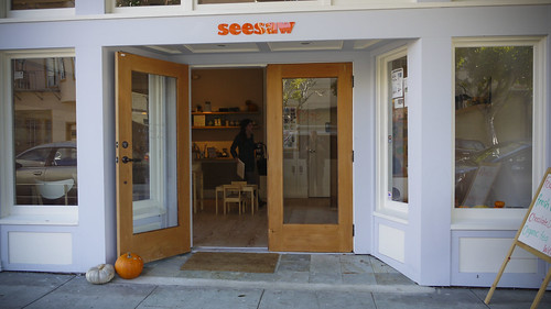 Seesaw Cafe, Octavia Street