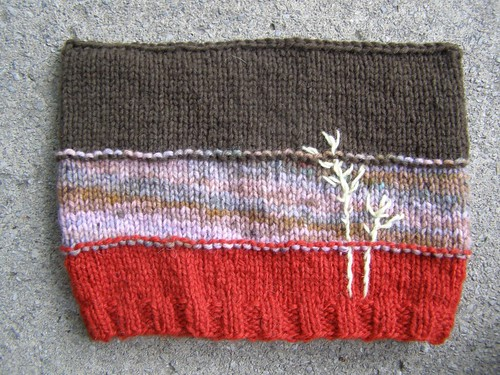 sweet grass hat - flat