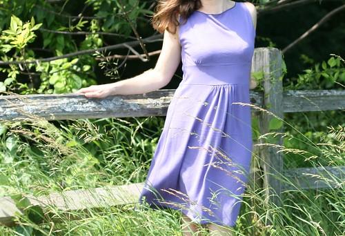 Boatneck Swing Dress
