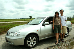 Nissan Sunny_Ge Hau&Wife