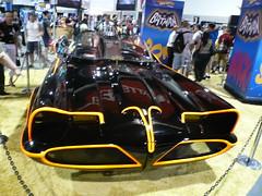 Batmobile car at Hot Wheels booth, ComicCon 2007, San Diego, CA.jpg