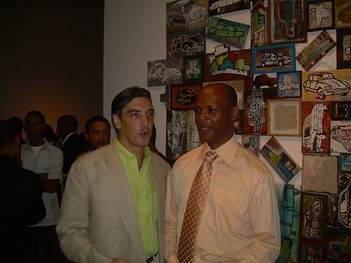Marcelo Ferder y Zapata frente a la creación del primero.