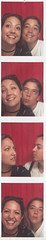 Hilary and I, photo booth