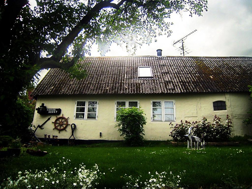 Una de las casas de Nyord
