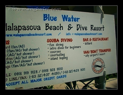 Malapascua Beach & Dive Resort, Cebu