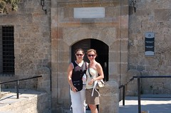 After our Turkish bath in Rhodes