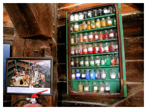 Paint Rembrandt used