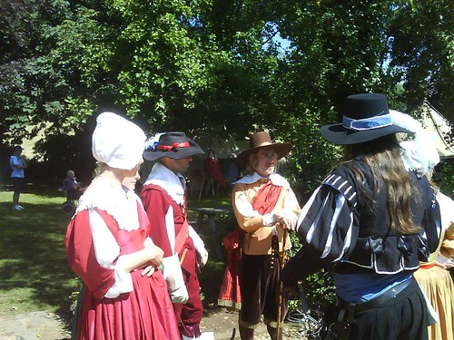 Some of the Gentry conversing at a previous years even