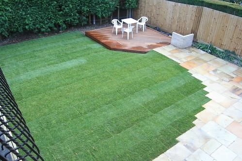 Front garden turf