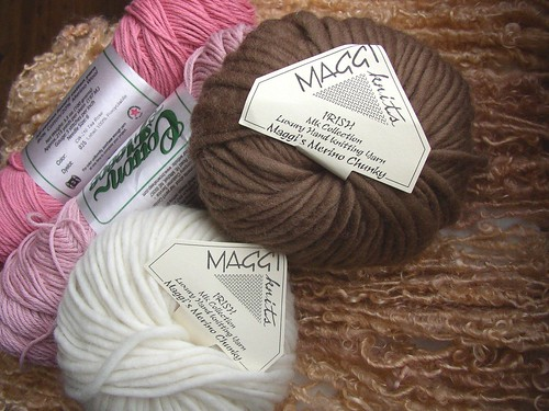 cotton fleece and maggie merino