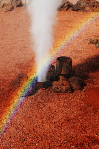 Impromptu rainbow
