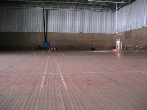 Cheltenham's devastated leisure facilities after the flood