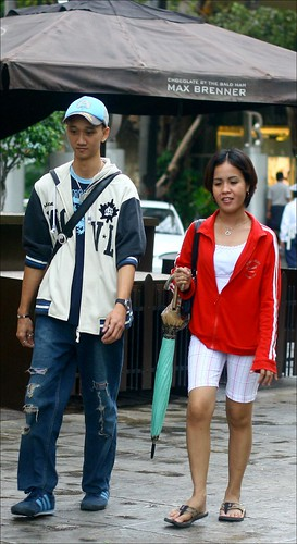 fashionable pair
