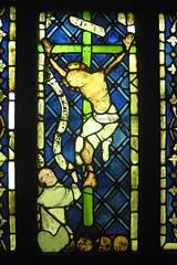 Paris - Latin Quarter: Musée national du Moyen Age - Crucifixion et panneaux décoratifs, by wallyg